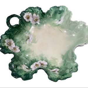 Vintage Hand Painted Rosenthal Bavaria candy dish
